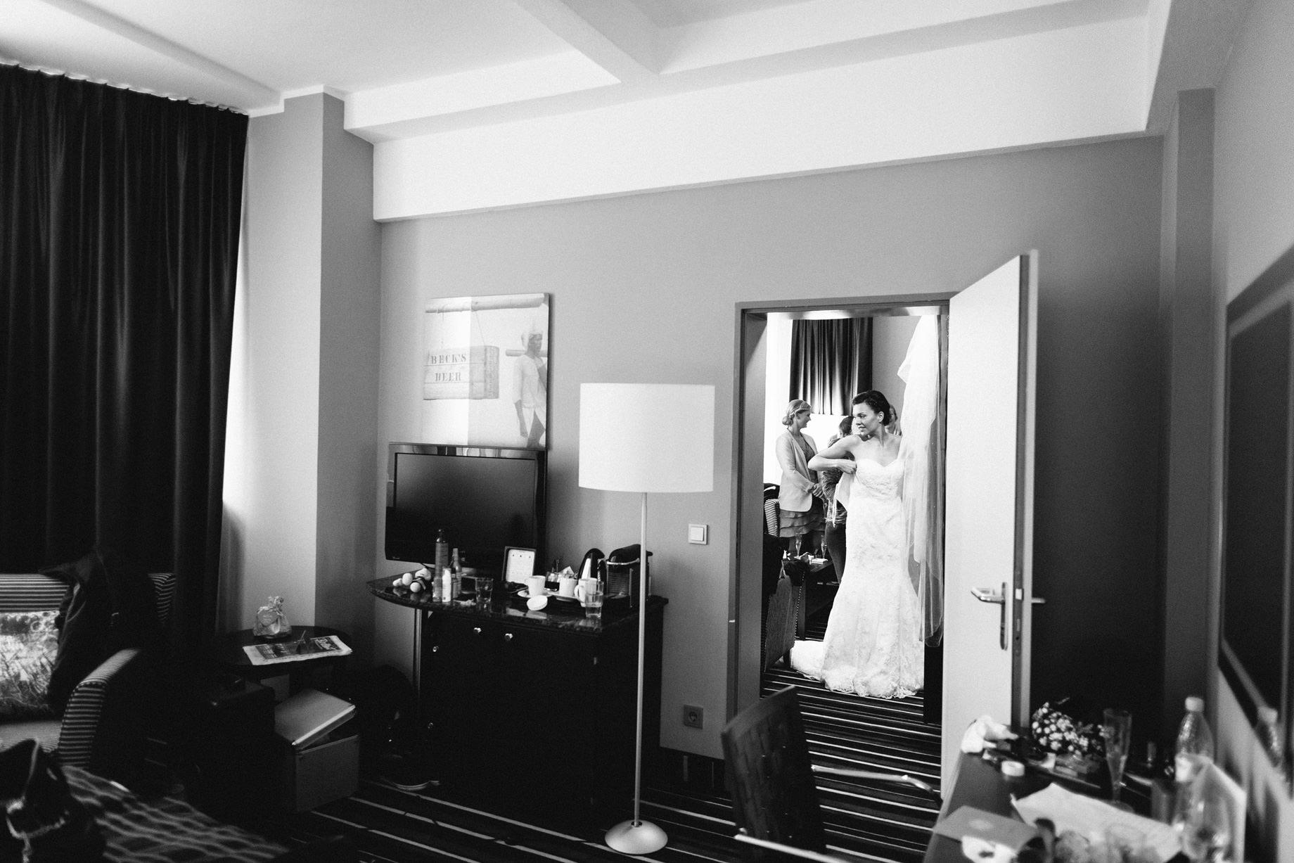 Hochzeitsvorbereitungen Braut Bremen