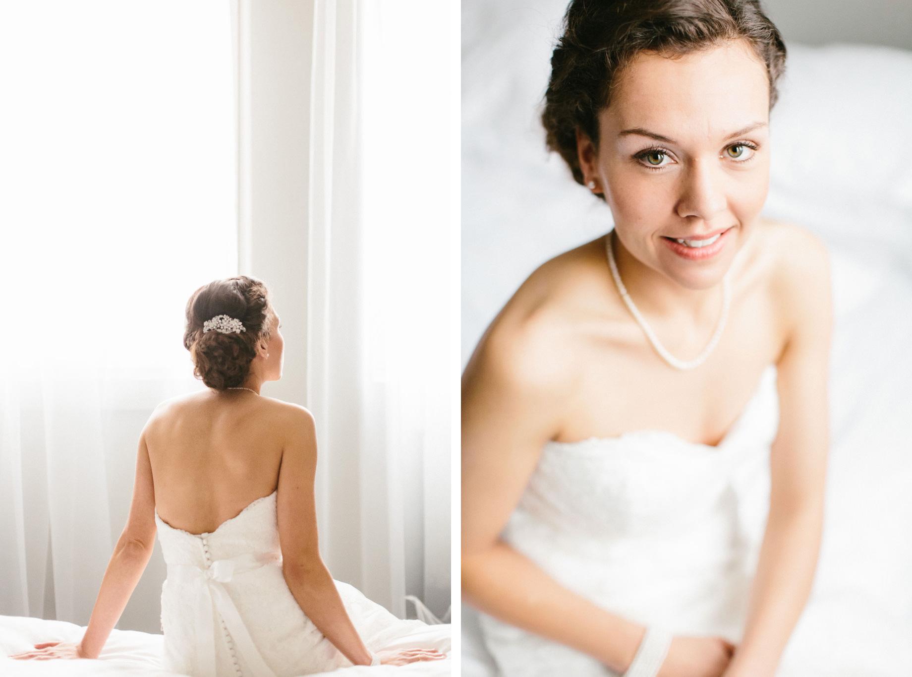 Hochzeit Braut Porträt Bremen