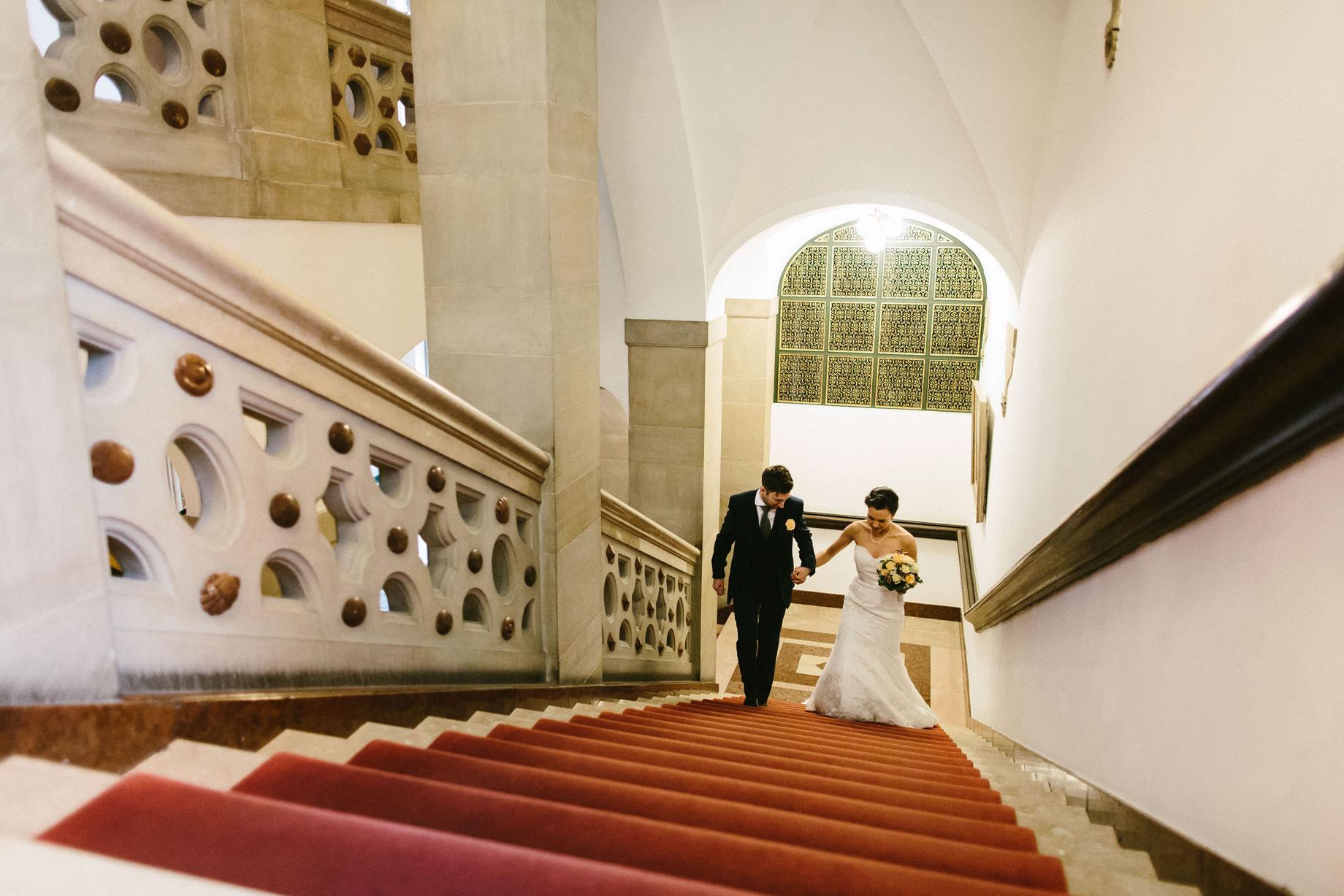 Hochzeit im Bremer Rathaus