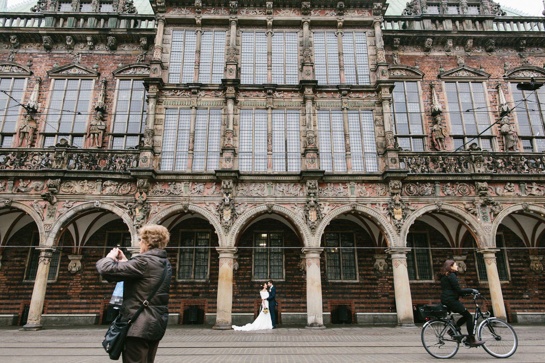 Hochzeitsfotograf Bremen Rathaus