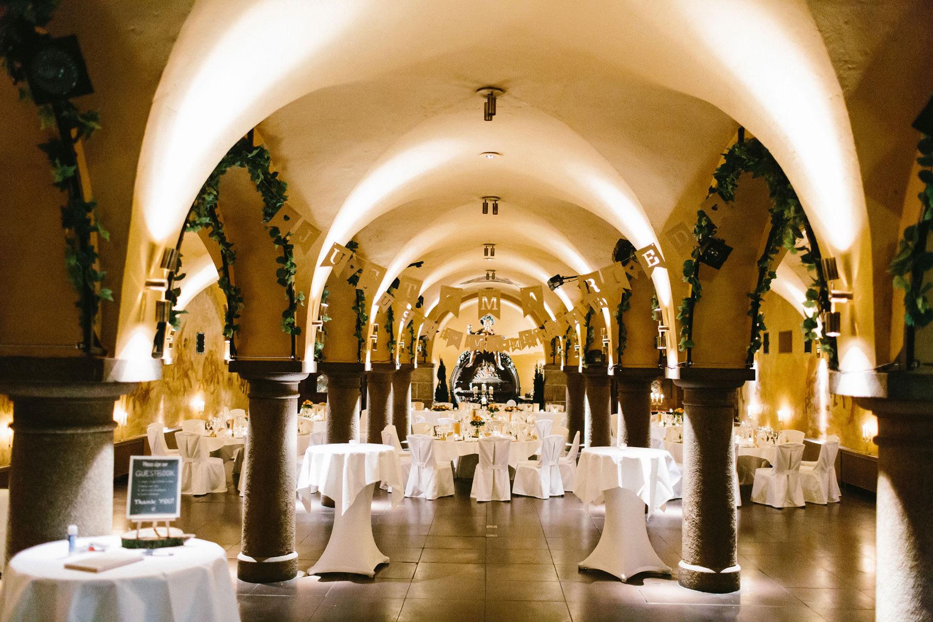 Hochzeitsfeier im Bremer Ratskeller