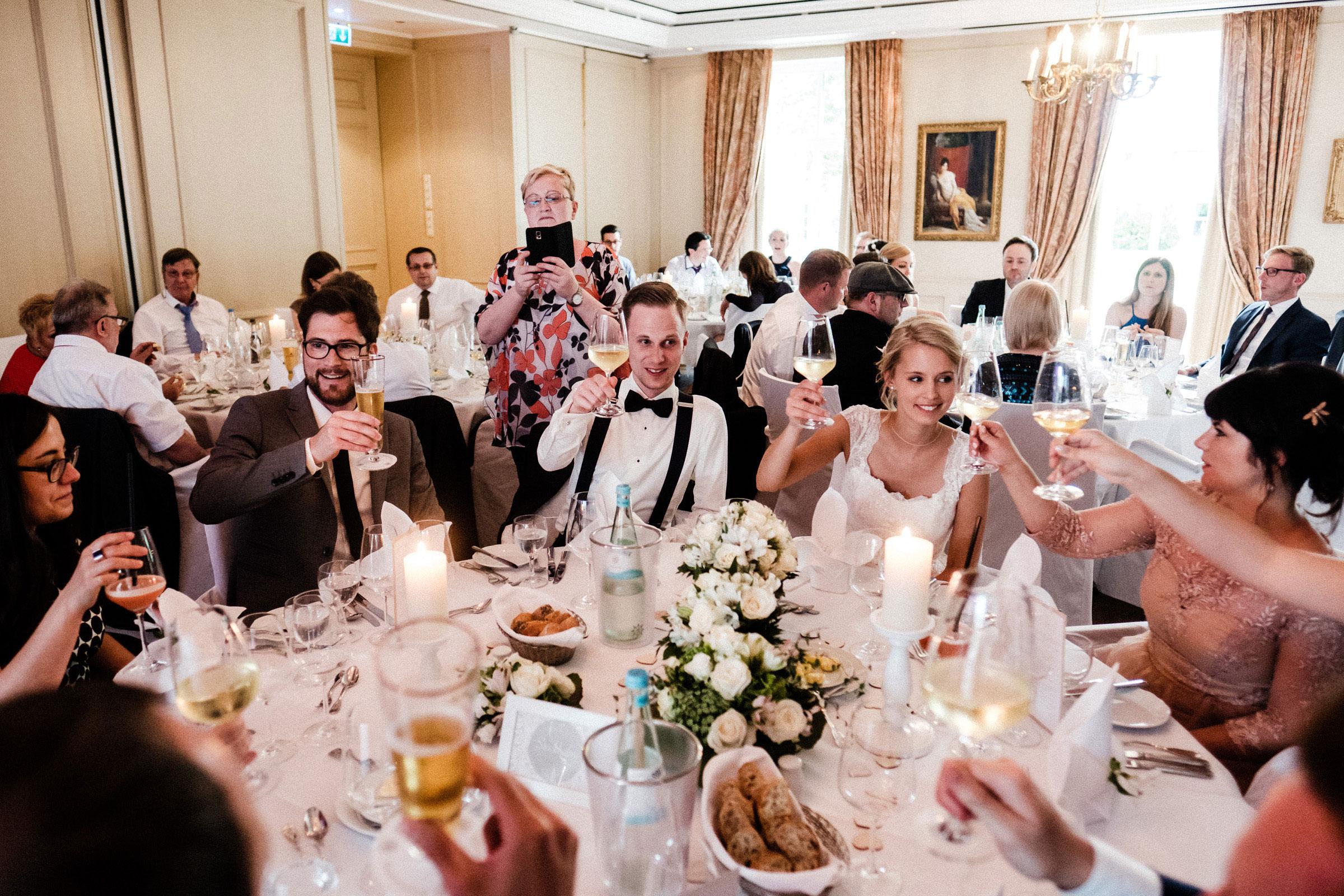 Hochzeitsfeier Burghotel Hardenberg